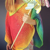 kinderponcho whirl | hobby gigant