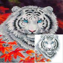 White Tiger Autumn Diamond Dotz | HobbyGigant.nl