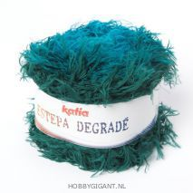 Sjaal of omslagdoek breien met Estepa Degradé van Katia | HobbyGigant.nl