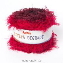 Sjaal of omslagdoek breien met Estepa Degradé van Katia | HobbyGignant.nl