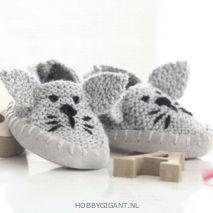 gevoerde leren slof zooltjes Phildar - HobbyGigant.nl