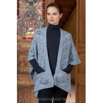 Poncho vest breien Merino 120 Lang Yarns | HobbyGigant.nl