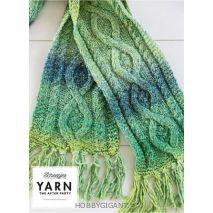 Sjaal met kabels breien - Mossy Cabled Scarf - Scheepjes