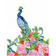 Exotic Peacock - Diamond Dotz