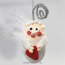 Engel kersthanger knutselen | HobbyGigant.nl