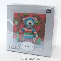 knuffelbeer Bruno Rico Design | hobbygigant.nl