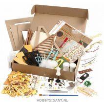 Miniatuur Naaikamer bouwpakket | hobbygigant.nl