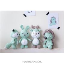 amigurumi knuffels haken Dendennis | hobbygigant.nl