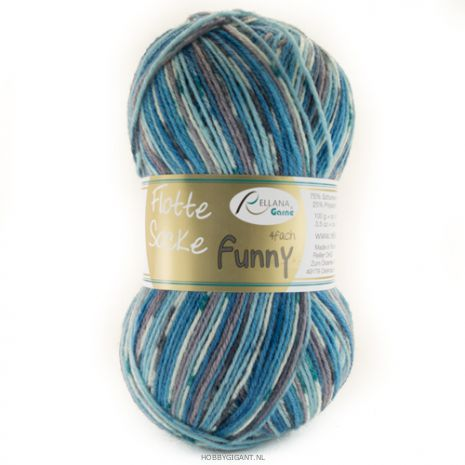 Rellana - Flotte Socke Funny 1245