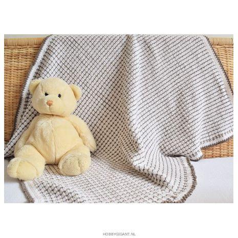 Babydekentje haken met Cool Wool | Hobby Gigant